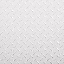 "Race Day Diamond Tread Peel and Stick 12"" x 12"" Floor Tile (Set of 20)"