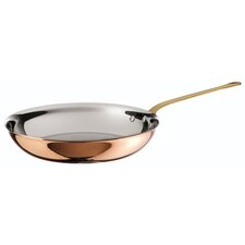 """10.25"""" Copper-Core Frying Pan with Lid"""