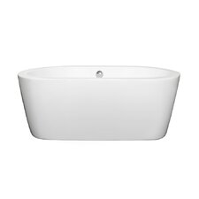 Mermaid 60 x 30 Soaking Bathtub by Wyndham Collection