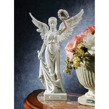 Nike the Winged Goddess of Victory Bonded Marble Resin Statue