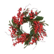 Cedar Berry Wreath