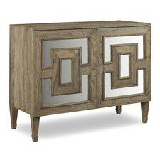 Palmer 2 Door Teak Chest by Brownstone Furniture