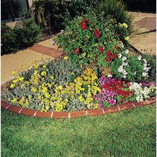 Let's Edge It! Decorative Plastic Brick Edging without Solar Lights