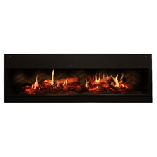 Opti-V Duet Wall Mounted Electric Fireplace