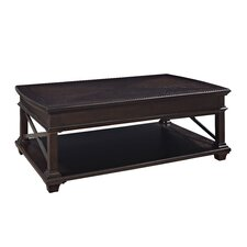 Sorrento Coffee Table with Lift Top and Wheels by Magnussen Furniture