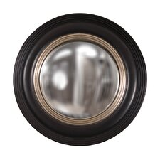 Round Glass Convex Wall Mirror
