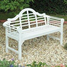 2-Sitzer Gartenbank Lutyens aus Holz