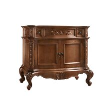 Bordeaux 36 Bathroom Vanity Cabinet Base in Colonial Cherry by Ronbow