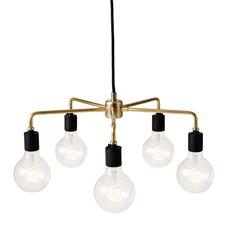 Tribeca Leonard 5-Light Sputnik Chandelier