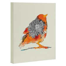 Bird by Iveta Abolina Graphic Art on Wrapped Canvas