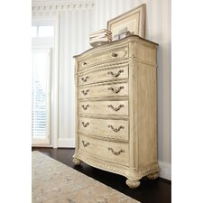 Jessica Mcclintock Boutique 6 Drawer Chest