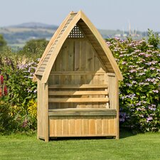 Wooden Arbour with Storage