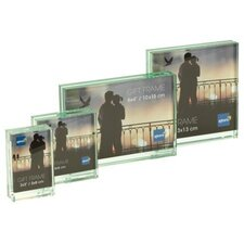 Solitaire Glass Block Picture Frame
