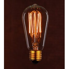 Vintage 40W Clear Light Bulb (Set of 2)