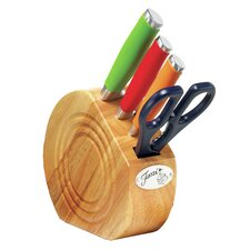 5 Piece Knife Set with Block