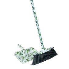 2-Piece Leaf Broom and Dustpan Set