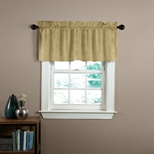 Velvet Soft Luxury Tailored Curtain Valance