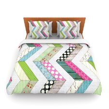Fabric Much? by Heidi Jennings Woven Duvet Cover
