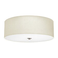 Kalunga 3 Light Flush Ceiling Light