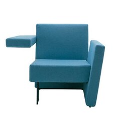 Meet Me Vertical Arm Right and Horizontal Arm Left Arm Chair by Segis U.S.A