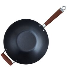 "Global Kitchen 14"" Nonstick Metal Wok"