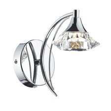 Luther 1 Light Semi-Flush Wall Light