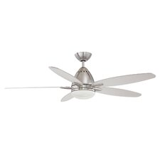 """52"""" Genesis 5-Blade Ceiling Fan with Wall Remote"""