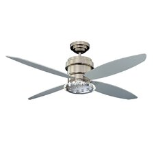 """52"""" Optica 4-Blade Ceiling Fan with Wall Remote"""