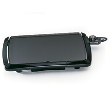"""18.5"""" Non-Stick Electric Griddle"""