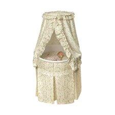 Empress Round Baby Bassinet I by Badger Basket