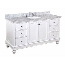 Bella 60 Single Bathroom Vanity Set by Kitchen Bath Collection