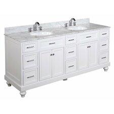 Amelia 72 Double Bathroom Vanity Set by Kitchen Bath Collection
