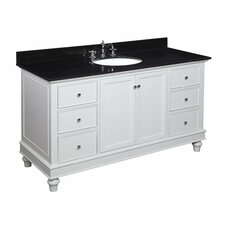 Bella 60 Single Bathroom Vanity Set by Kitchen Bath Collection