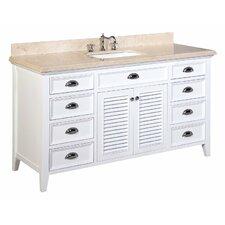 Savannah 60 Single Bathroom Vanity Set by Kitchen Bath Collection