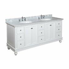 Bella 72 Double Bathroom Vanity by Kitchen Bath Collection