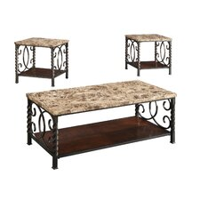 3 Piece Coffee Table Set by Wildon Home ®