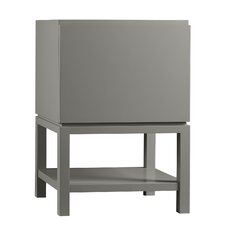 Contempo Jenna Wood Cabinet Vanity Blush Taupe Base by Ronbow