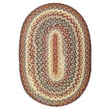 Cotton Braided Biscotti Area Rug