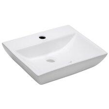 "Modern Compact 18"" Wall mount Bathroom Sink"