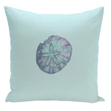 Decorative Sanddollar Throw Pillow