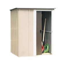 Brentwood 4.96 ft. W x 4 ft. D Metal Vertical Tool Shed