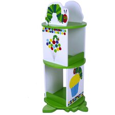 The Very Hungry Caterpillar 30.8 Revolving Bookcase by Levels of Discovery