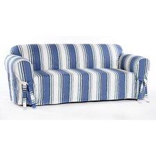 Stripe Duck Sofa Slipcover by Classic Slipcovers