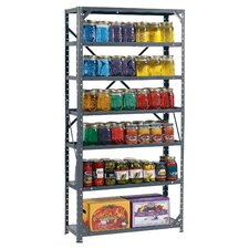 Hom-E-Quip 60 H Steel Seven Shelf Canning Shelving Unit by Edsal-Sandusky