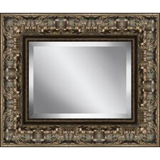 Rectangle Aged Beveled Plate Glass Mirror