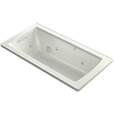 Archer 60 x 30 Alcove Whirlpool with Left Hand Drain by Kohler