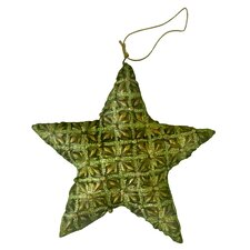 Holiday Lace Filigree Star Ornament (Set of 2)
