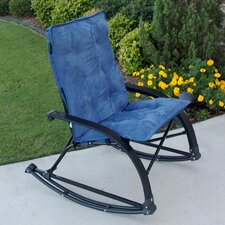 Wembley Rocking Chair with Cushion by International Caravan