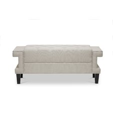 Baxton Studio Cheshire Upholstered Bedroom Bench by Wholesale Interiors