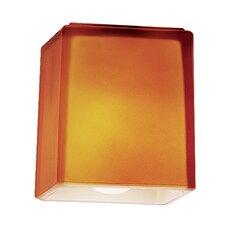"""Hermes 3"""" Glass Rectangular Pendant Shade"""